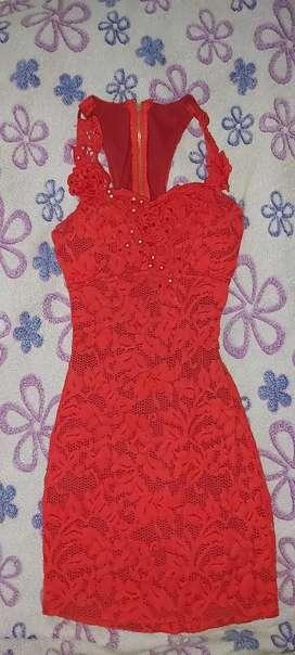 Vestido Rojo S