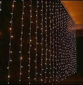 Luz Luces Cortina LED 3*3 cajón de 20 unidades