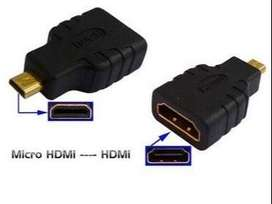 Micro HDMI a HDMI / Conector / Adaptador / Convertidor