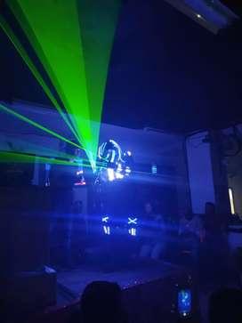 Luces dj sonido