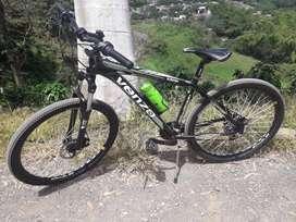 se vende bicicleta de montaña 27.5 VENZO talla M