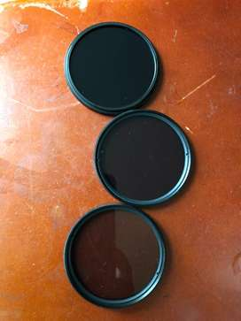 Filtros ND8 ND4 ND2 58MM