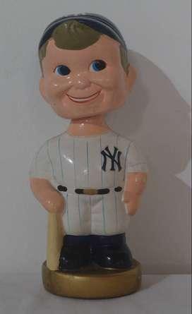 Muñeco Vintage Cabezón Yankees