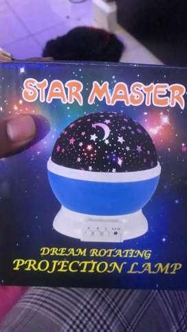 Lámpara proyectora Star master