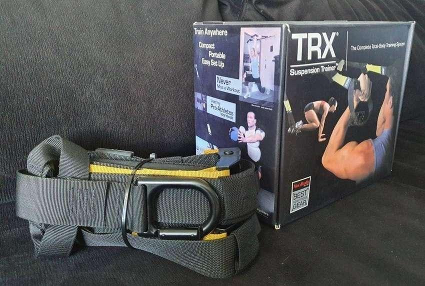 Sistema Suspensión Fitness Crossfit Silver Gym Entrenamiento - Gimnasio en casa - TRX