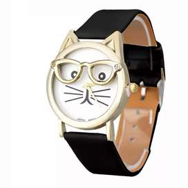 Reloj gato dama Ilusion Of Time