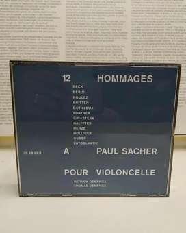HOMMAGES  PAUL SACHER 2 CD's