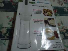 Auxiliar de cocina (para hacer galletas y decorar) eléctrico