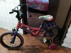 Ciclas de niña, de segunda