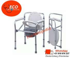 silla portátil para baño geriátrico