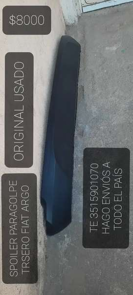 SPOILER PARAGOLPE FIAT ARGO