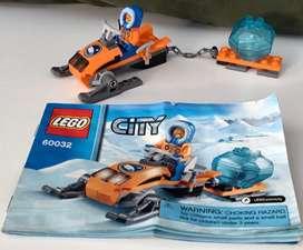 Lego city moto artico