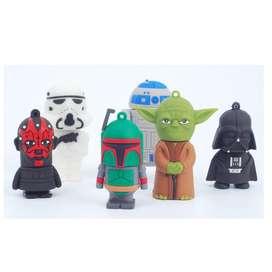 Usb Yoda, Storm trooper, Darth Vader, Darth Maul
