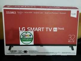 Tv lg smart 32 pulgadas  totalmente nuevo