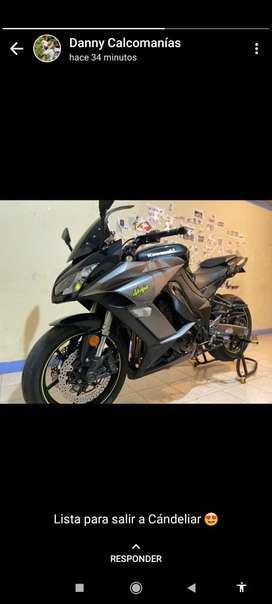Kawasaki z1000sx modelo 2012