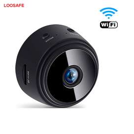 Mini Camara Wifi 1060 Micro Sd P2p Loosafe Full Hd
