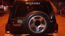 traba antirrobo para rueda de auxilio Camioneta Zuzuki