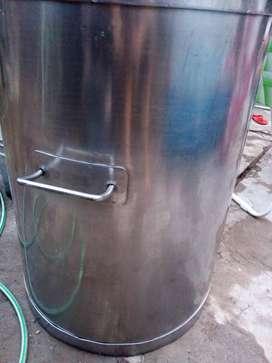 Olla de acero inoxidable de 200 litros
