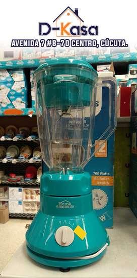 Licuadora HOME ELEMENTS | Vaso Plástico | 2 Litros | 3 velocidades | ► ENVIÓ GRATIS ◄