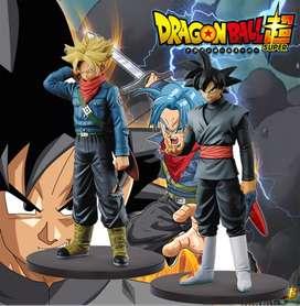 Dragon Ball Colección Goku Black Trunks X2 figuras Juguetería
