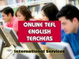 ONLINE PERSONAL ENGLISH  CLASSES