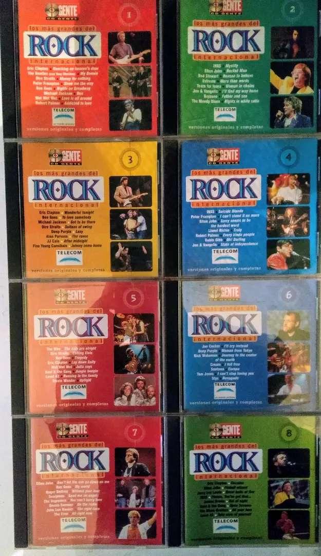 Los más grandes del rock internacional