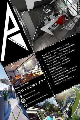 Diseño de interiores Arquitectura Planos  Diseño 3D Construcción