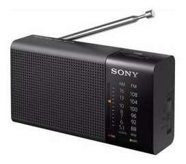 Radio Portátil Con Altavoz Sony Icf-p36 Am/fm Original Env