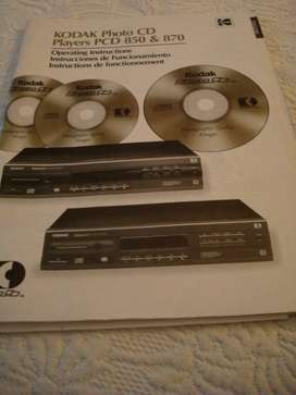 DVD Marca KODAK casi nuevo sin uso