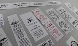 servicio de impresión de etiquetas adhesivas,