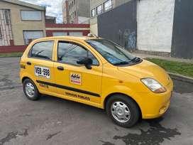 Taxi chevrolet spark cronos modelo 2007 único dueño