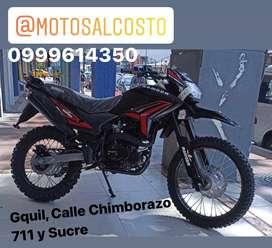 Moto Ranger 250cc Barra Invertida Todo Terreno con Panel Digital y Parilla con Garantia Consultas al Whatsapp