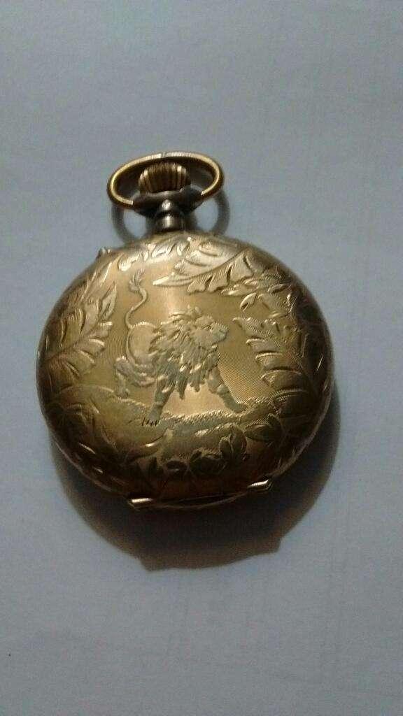 Antiguo Reloj de Bolsillo 4 Tapas de Oro 0