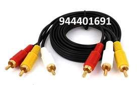 Cable RCA  macho