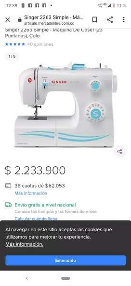 """"""" GANGAZO de máquina SINGER"""""""