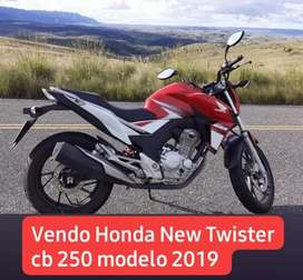 Vendo Urgente Honda New Twister CB 250cc
