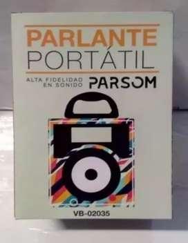 Parlante Portatil (con luces ridmicas)Parsom mod.VB-02035