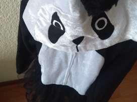 Dizfraz panda con tutu