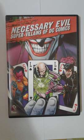 DC Comics Necessary Evil DVD Documental Batman Villanos
