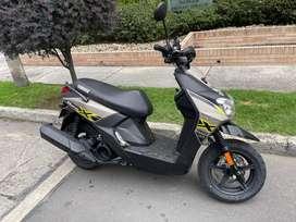 moto nueva, yamaha bws, 2021