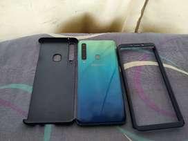 Samsung A9 2018 6 de ram 128 internas 4 camaras