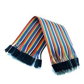 Cables Dupont De 20 Cm Terminal Macho Hembra - Tectronixs