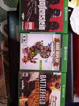 Juego Xbox one - cambio vendo