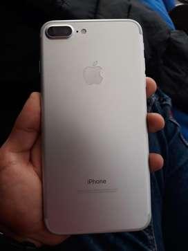 Iphone 7 plus de 128gb silver