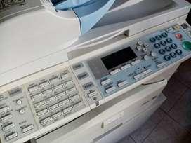 Fotocopiadora es impresora y scanner costo 550