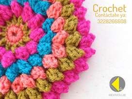 Crochet clases particulares y grupales