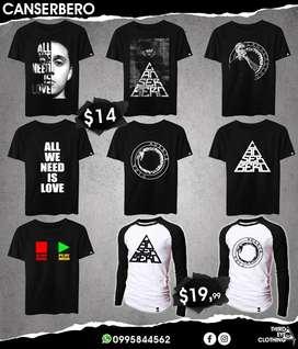 Camisetas canserbero