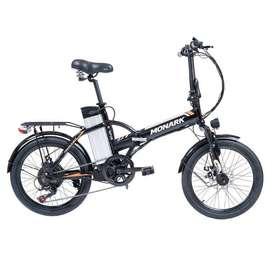 """Bicicleta Eléctrica Monark E-SPIN - ARO 20"""""""