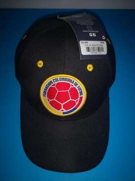 Gorra Negra Selección Colombia