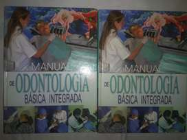Libros: Manual de Odontología Básica Integrada (2 tomos).